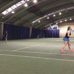 Tennis girls hammer Hallam