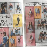 It's the 90's Baby! Courier Fashion Shoot 2017
