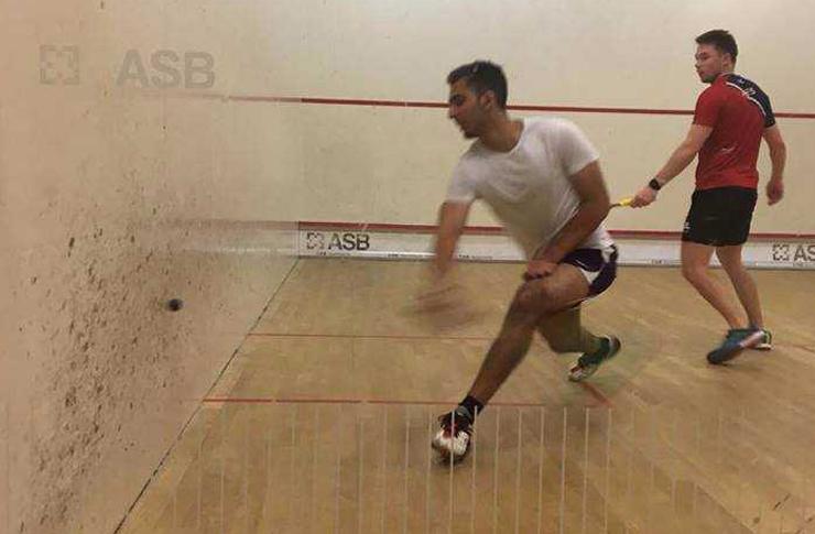 Squash match