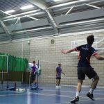 Comeback Stopped Short for Men's Badminton