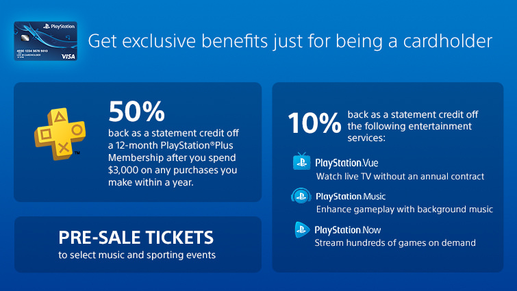 PlayStation Announce New 'PlayStation Credit Card' in Association