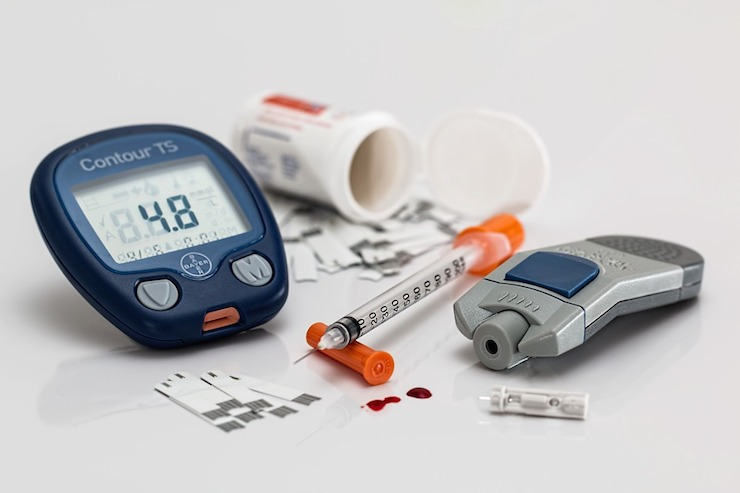 Obesity increases risk of diabetes.