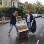 Students Helping to keep Jesmond Clean