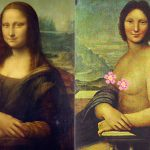 The Mona Lisa Stars in Her Own Nude Photo-shoot?