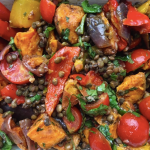 Recipe of the Week: Spiced Sweet Potato and Lentil Salad