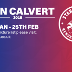 Stan Calvert 2018: what you need to know