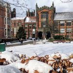 Beast from the East causes chaos on campus