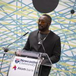 Will.I.Am Visits Newcastle University to discuss data protection and artificial intelligence