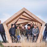 Students design Northumberland coast shelter