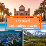 Top travel destinations in 2020