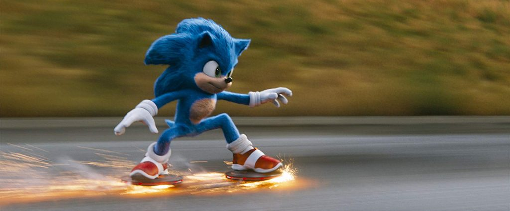 Sonic has no respect for road safety or speed limits, Image: IMDB