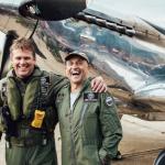 Around the world Spitfire flight