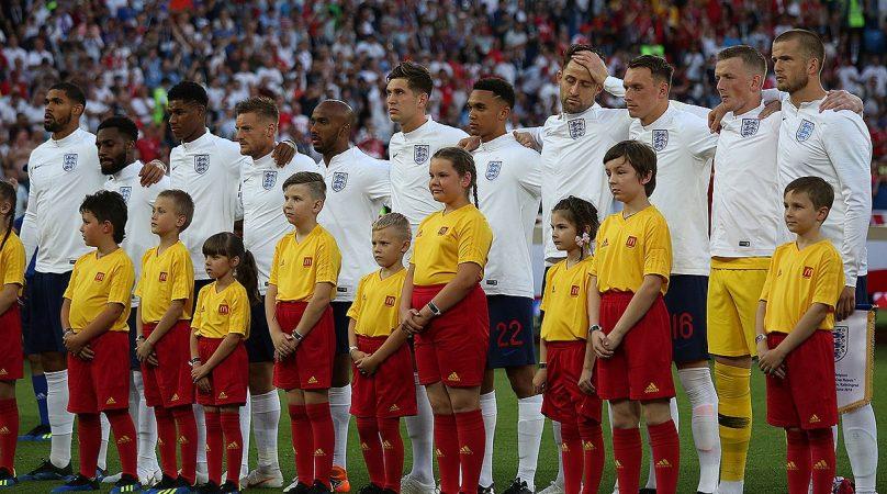 England line-up