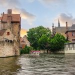 Blonde beers in Bruges