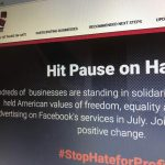 Newcastle University joins the Stop Hate for Profit campaign
