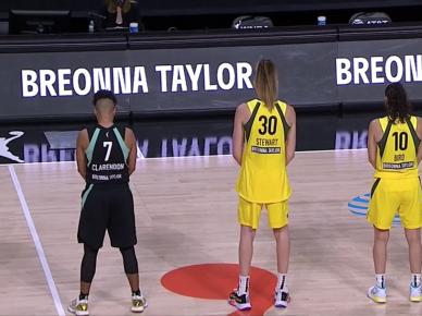 WNBA BLM
