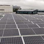 New solar panels installed on King's Gate
