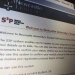 University Student Self Service Portal restored