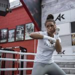 Olympic boxer Natasha Jonas offers free food and boxing lessons to struggling families