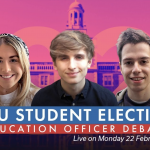 2021 NUSU Elections debates: Education Officer