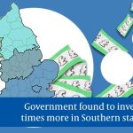 Government investment in Southern start-ups is five times higher