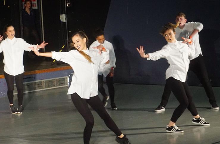 Street dance: the Advanced Street team impressed the judges and audience alike. Image: Katherine Smith