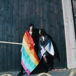 LGBT+ awareness week colours campus