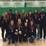 Volleyballers seal student cup