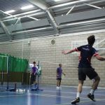 Comeback Stopped Short for Men's Badminton