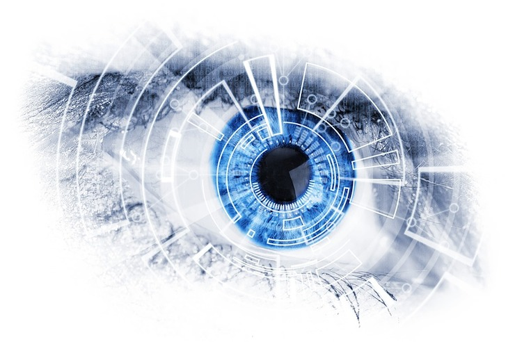 Graphene tattoos could even be implanted on to pilot's eyes.