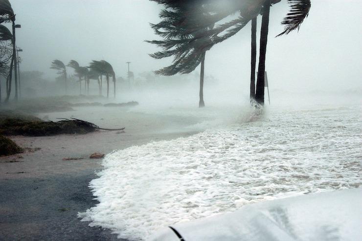 Storm surges could threaten coastal populations.