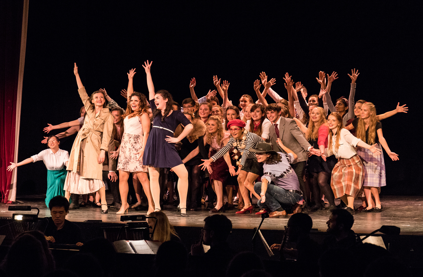 There was a cast of over 40 people in the production   Image: Lewis Palmer