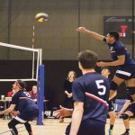 Volleyballer awarded scholarship for achievements
