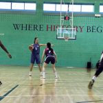 Two weeks, four wins: basketballers sweep Loughborough and Durham