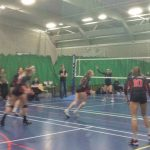 Volleyball fall to Northumbria