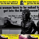 SWEET COLUMN: Guerrilla Girls