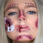 Blown the student loan: Budget Halloween makeup