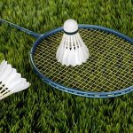Newcastle Badminton racquet to victory