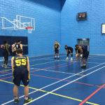 Newcastle basketball hit century against Hull