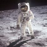 A bit of Earth on the moon?
