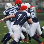 Mustangs trample Raiders to secure the title