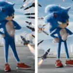 Sonic The Hedgehog's leaked film design