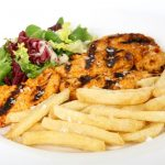 Dish of the week: The very lazy Sunday chicken and chips.