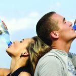 Does drinking plenty of water mean clear skin?