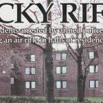 From the archives: Ricky rifle unleashed on campus