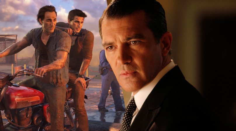 Antonio Banderas Joins Tom Holland In Uncharted Movie The