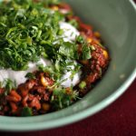 Dish of the week: vegan chilli