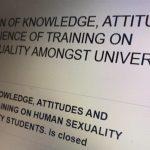 "University distributes survey featuring ""homophobic"" views"