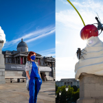 The state of affairs with a cherry on top: Heather Phillipson's new fourth plinth piece