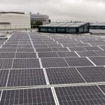 New solar panels installed on King's Gate